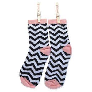 FABULOUS HERRINGBONE ANKLE SOCKS WAVY