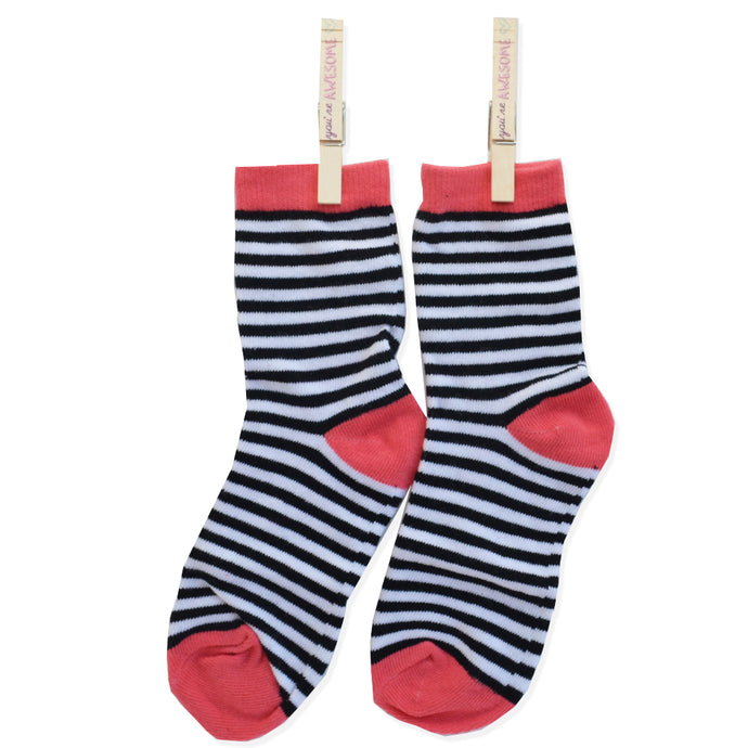 FABULOUS HERRINGBONE ANKLE SOCKS STRIPE