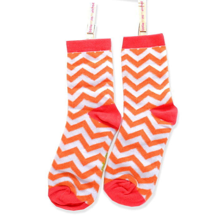 MARVELOUS ANKLE SOCKS ZIG ZAG