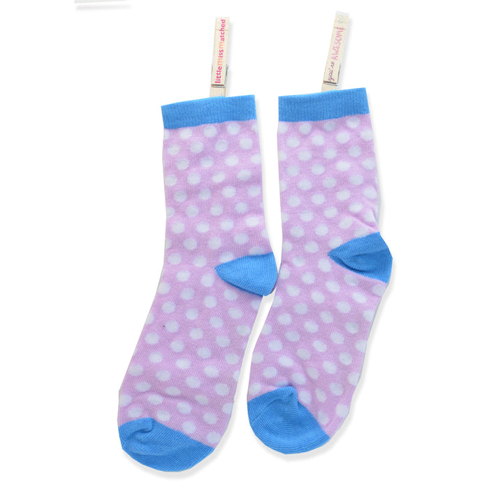 MARVELOUS ANKLE SOCKS DOTS