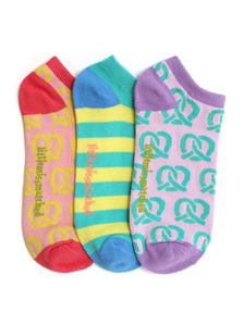 MARVELOUS PRETZELS LINER SOCKS