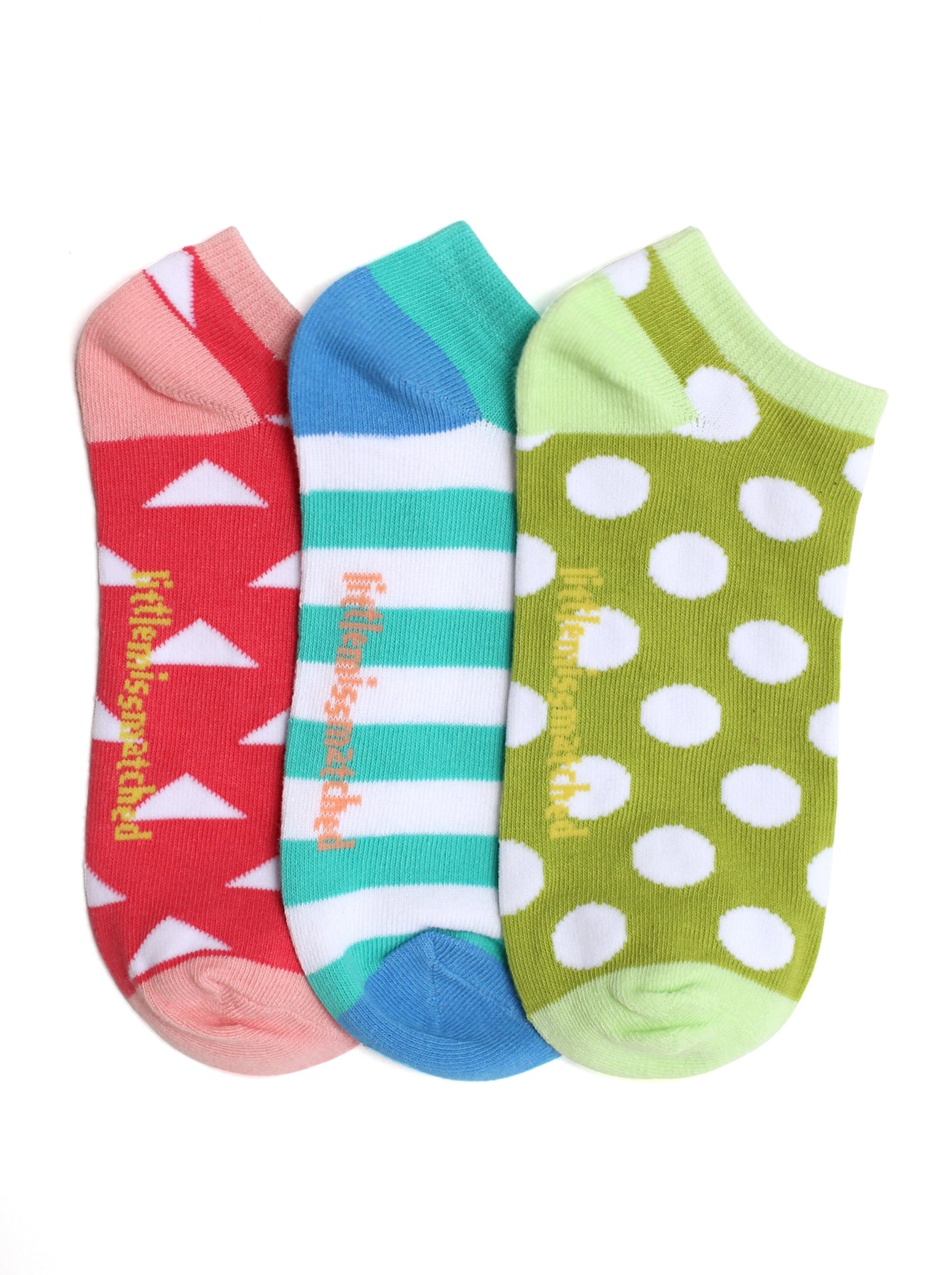 MARVELOUS TRIANGLE LINER SOCKS