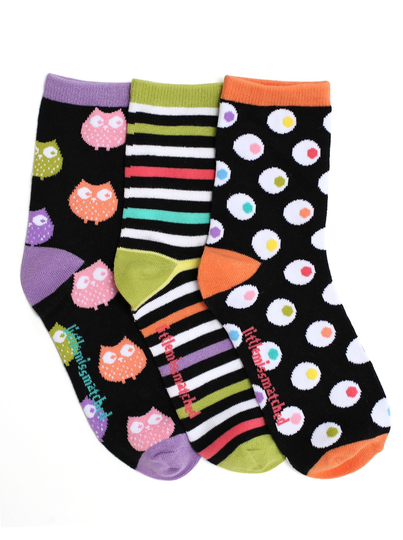 ZANY OWLS ANKLE SOCKS