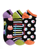 Load image into Gallery viewer, ZANY OWLS LINER SOCKS