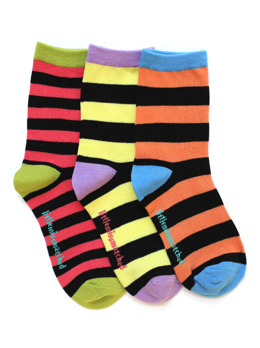 KOOKY STRIPES ANKLE SOCKS