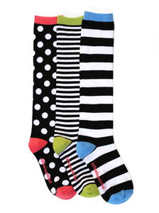 MARVELOUS DOT KNEE HIGH SOCKS