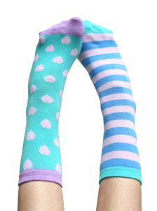 MARVELOUS HEARTS ANKLE SOCKS