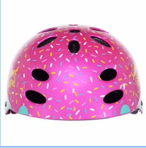 SWEET LIFE CUPCAKE MULTI-SPORT CHILD'S HELMET - AGES 5 AND UP - PINK