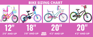 "20"" Girl's LittleMissMatched Fearless Bike - Rider Height 4'2"" and Up"