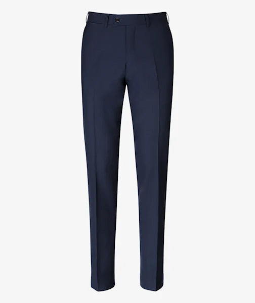 PANTALON BUSINESS S140 LISO AZUL