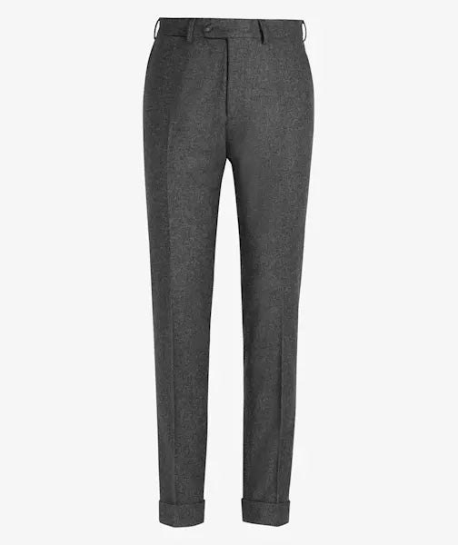 PANTALON BUSINESS S140 LISO GRIS