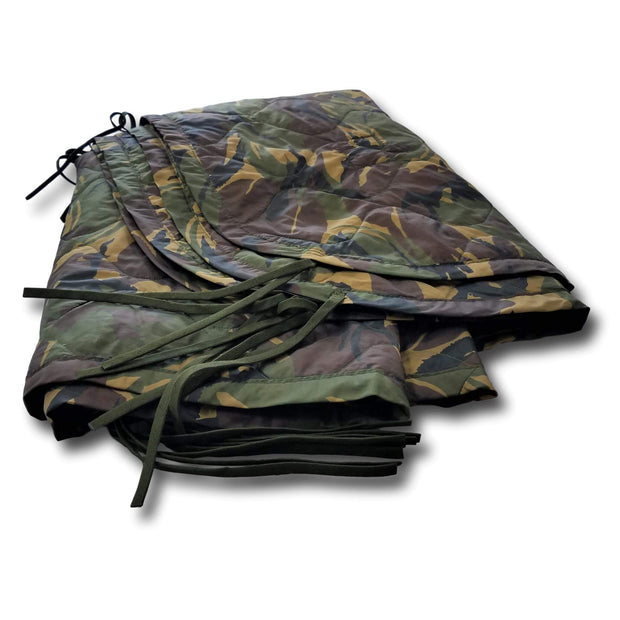 Authentic Military Woobie / Poncho Liner in Finland's Woodland Camouflage Pattern