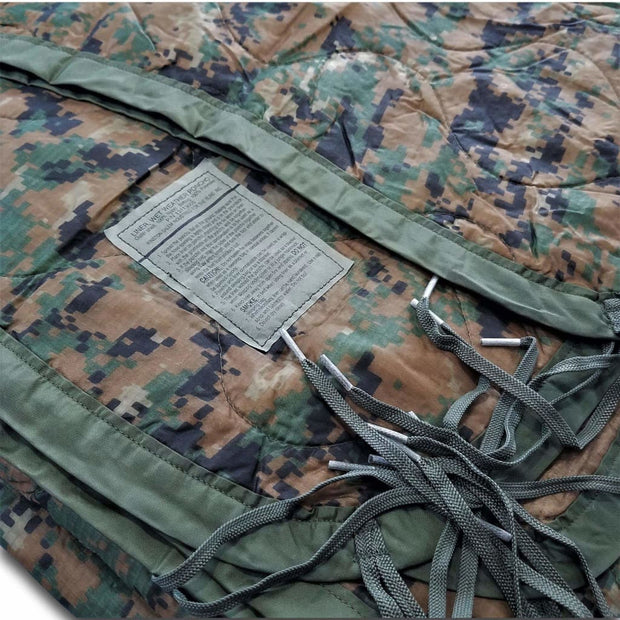 Authentic Military Woobie in MARPAT Marine Camouflage Pattern - Woobie