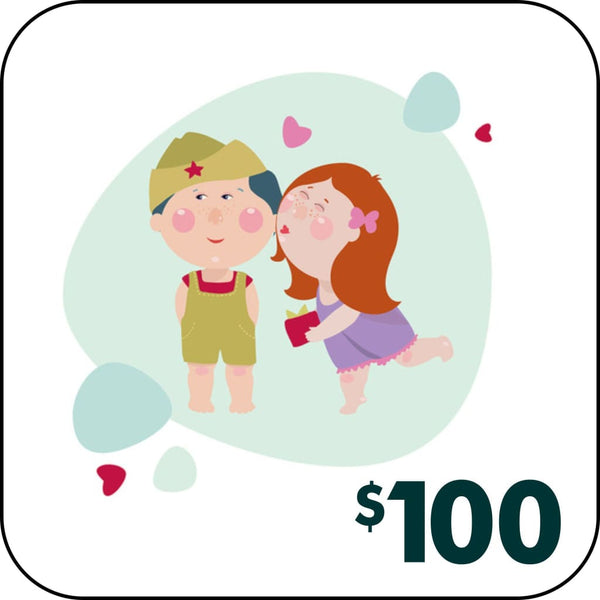 GIFT CARD - $100.00 - Gift Card
