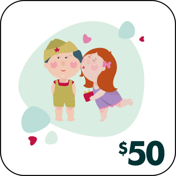 GIFT CARD - $50.00 - Gift Card