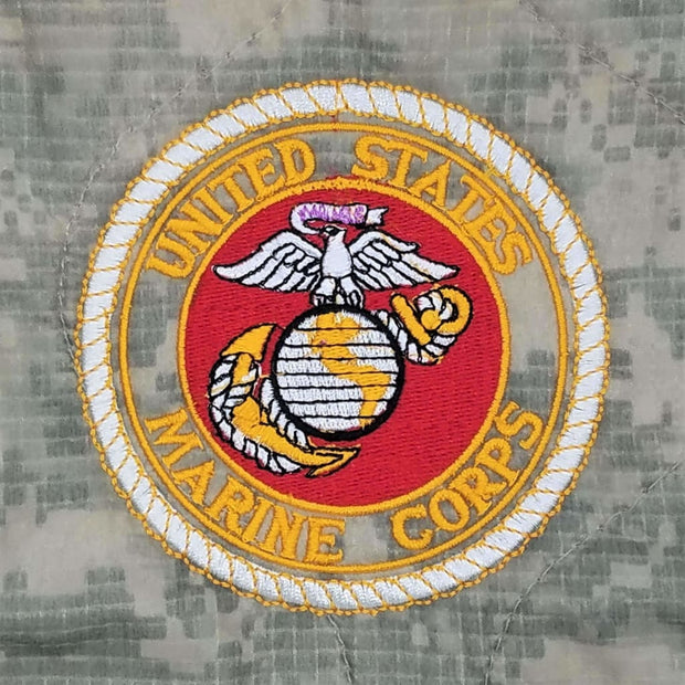 Gold Roped Marine Corp Seal - Personalize