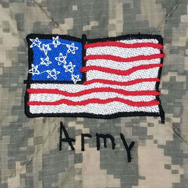 Kids Army - American Flag - Personalize
