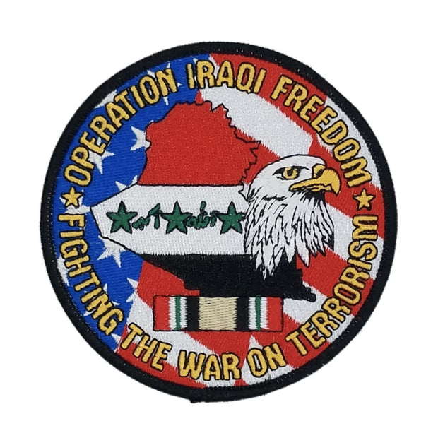 Operation Iraqi Freedom Fighting the War on Terrorism Patch - Patch