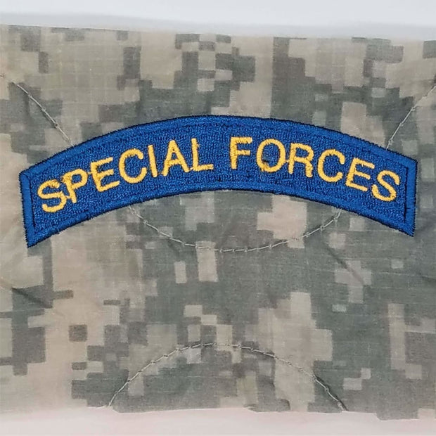 Special Forces Blue Gold Tab - Personalize
