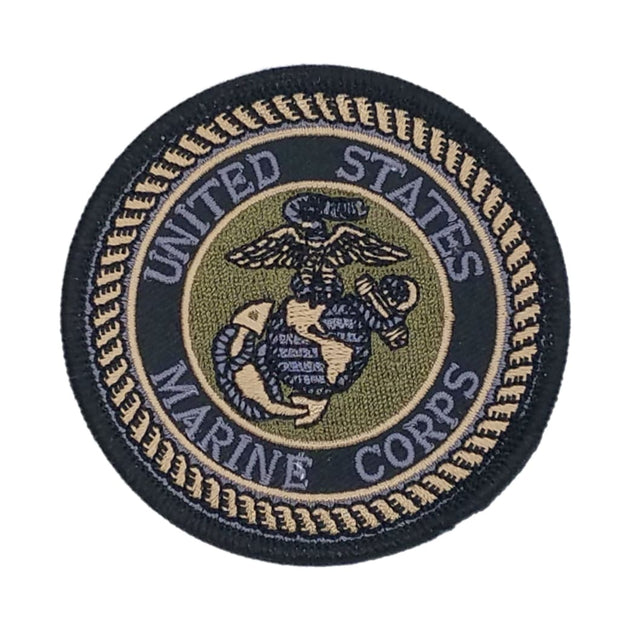 United States Marine Corps Seal Subdued Patch - Patch