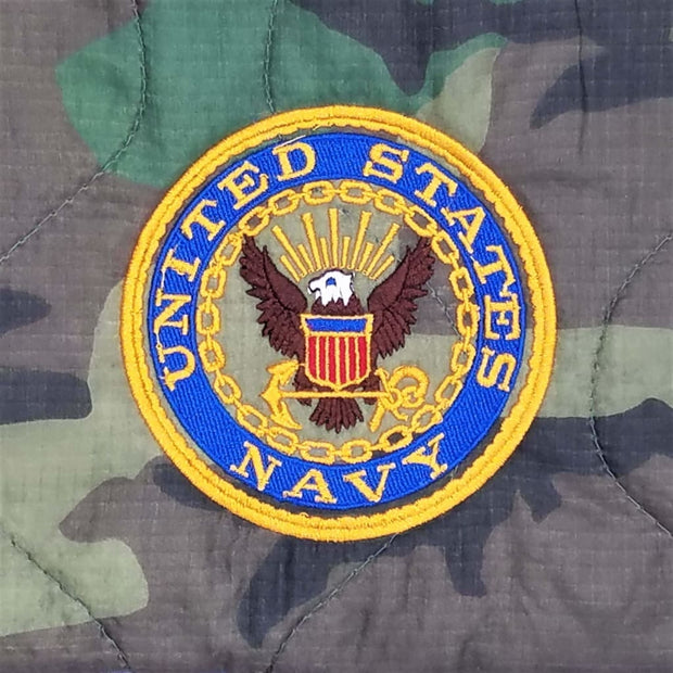 United States Navy with Eagle - Full Color - Personalize