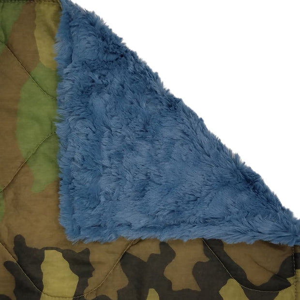 Woobie Weighted Blanket - Woodland Camouflage Pattern - Chambray / 4 - 5lbs - Custom Woobie