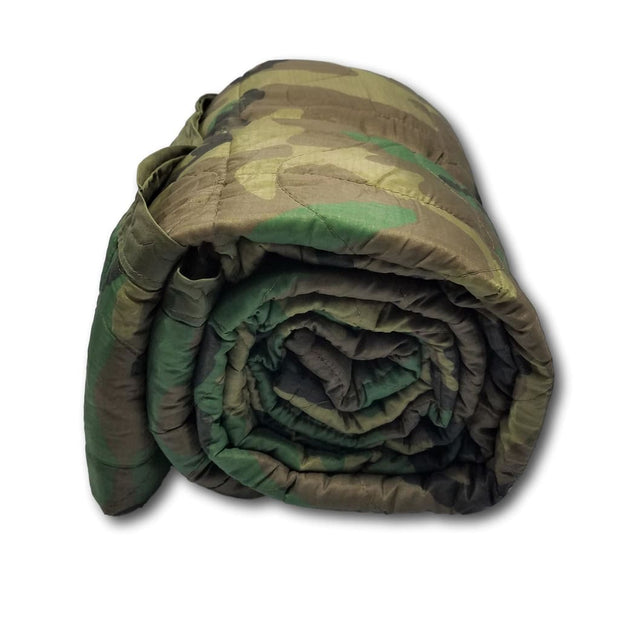 Woodland Camouflage - United States Army Patch - Woobie Weighted Blanket Shell