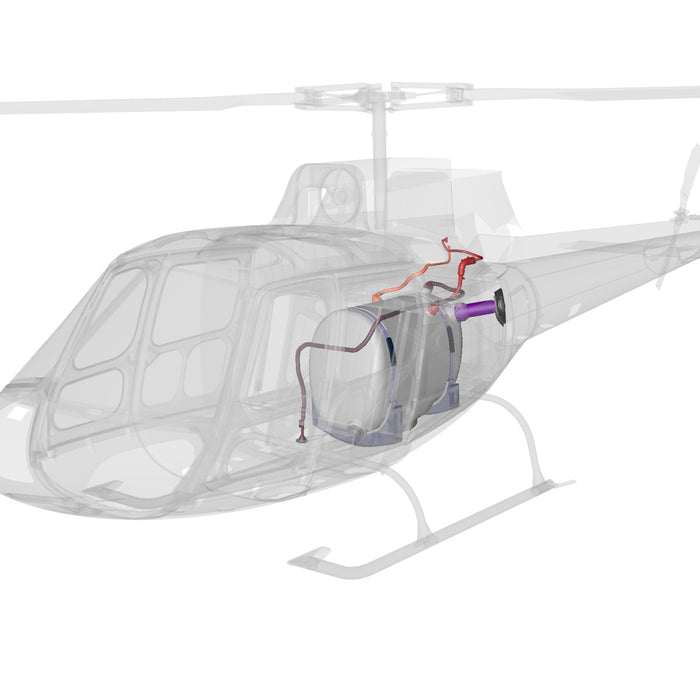 H125-H130 Crash Resistant Fuel System