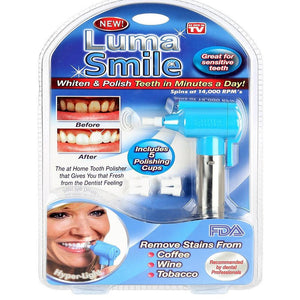 Professional Electric Strength Tooth Polisher & Whitener, Removes Surface Stains
