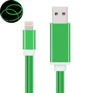 "Only $9.99 - 80%OFF DISCOUNT - IPHONE COOL LED ""LIGHT FLOW"" USB CABLE"