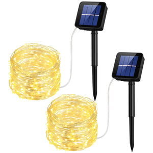 (Last Day Promotion ) LED Solar String Lights - 8 Working Modes