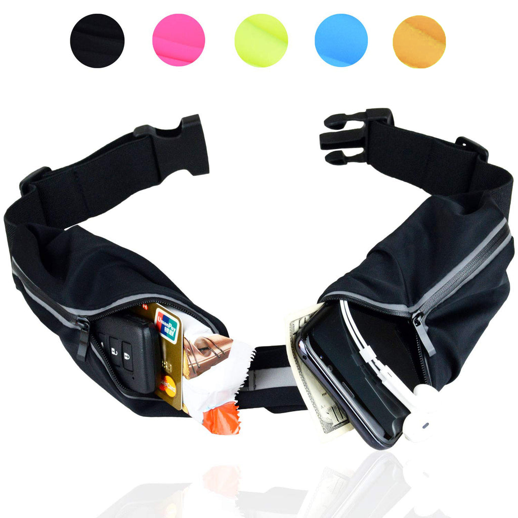 60% OFF-Hands-Free Workout Fanny Pack Pouch for Runners  Freerunning Reflective Waist Pack Phone Holder  Fitness Gear Accessories