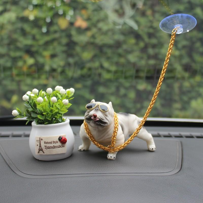 Bully Dog Automobile Dashboard Decoration