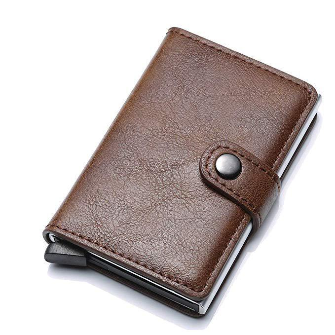 Anti-theft-RFID Auto Pop-up Leather Card Wallet - BUY 2 FREE SHIPPING