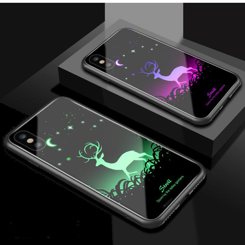 Luminous Noctilucent Tempered Glass Back Cover - BUY 2 FREE SHIPPING