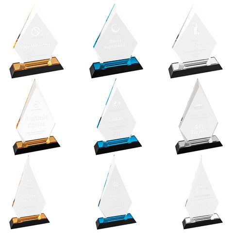 Arrow Point Impress Acrylic Award - Red Carpet Trophy Shop