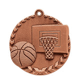 Basketball Millennium Medal - Red Carpet Trophy Shop