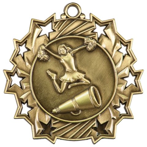 Cheer Ten Star Medal - Red Carpet Trophy Shop