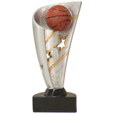 Basketball Banner Resin Award