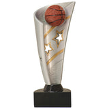 Basketball Banner Resin Award - Red Carpet Trophy Shop