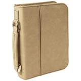 Leatherette Book/Bible Cover with Handle & Zipper