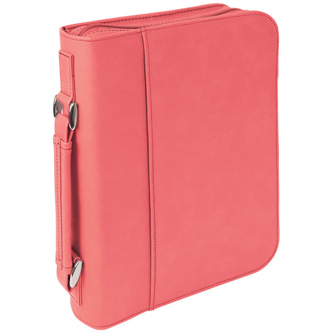 Leatherette Book/Bible Cover with Handle & Zipper - Red Carpet Trophy Shop