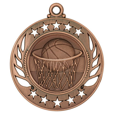 Basketball Galaxy Medal - Red Carpet Trophy Shop