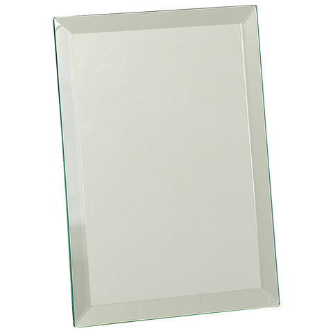 Clear Glass Mirror Plaque - Red Carpet Trophy Shop