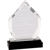 Fusion Diamond Impress Acrylic Award - Red Carpet Trophy Shop