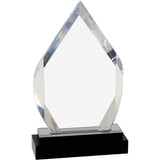 Fusion Diamond Impress Acrylic Award