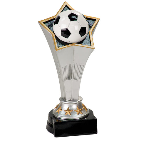 Soccer Rising Star Award - Red Carpet Trophy Shop