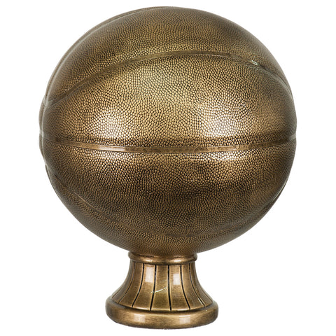 Antique Gold Basketball Award - Red Carpet Trophy Shop