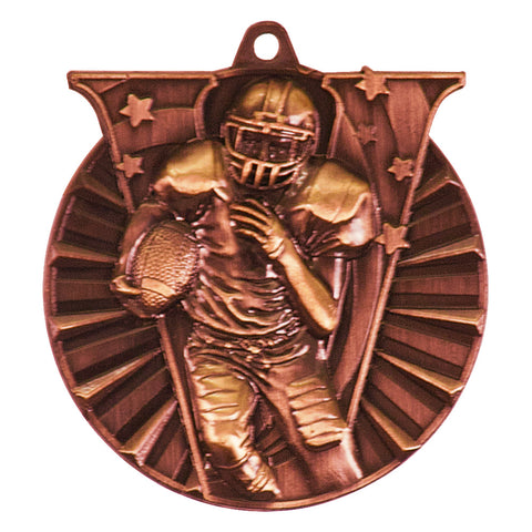Football Victory Medal - Red Carpet Trophy Shop