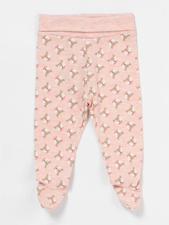 Artie - Foxy Footed Pants Pink - Stylemykid.com